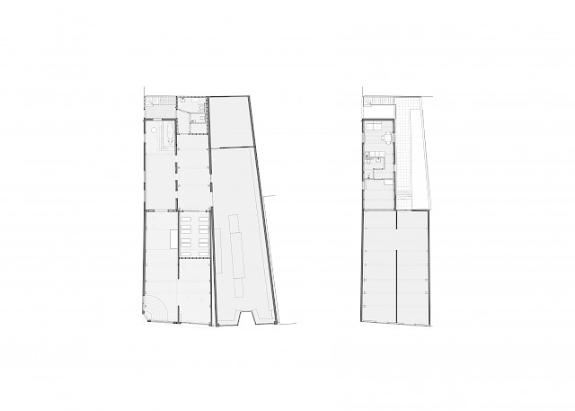 allard architecture • Edam Cheese Museum • Floor Plans