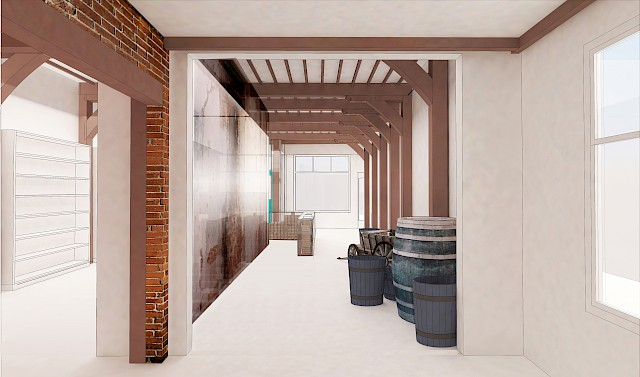 allard architecture • The Story of Edam Cheese • Concept Interior Perspective