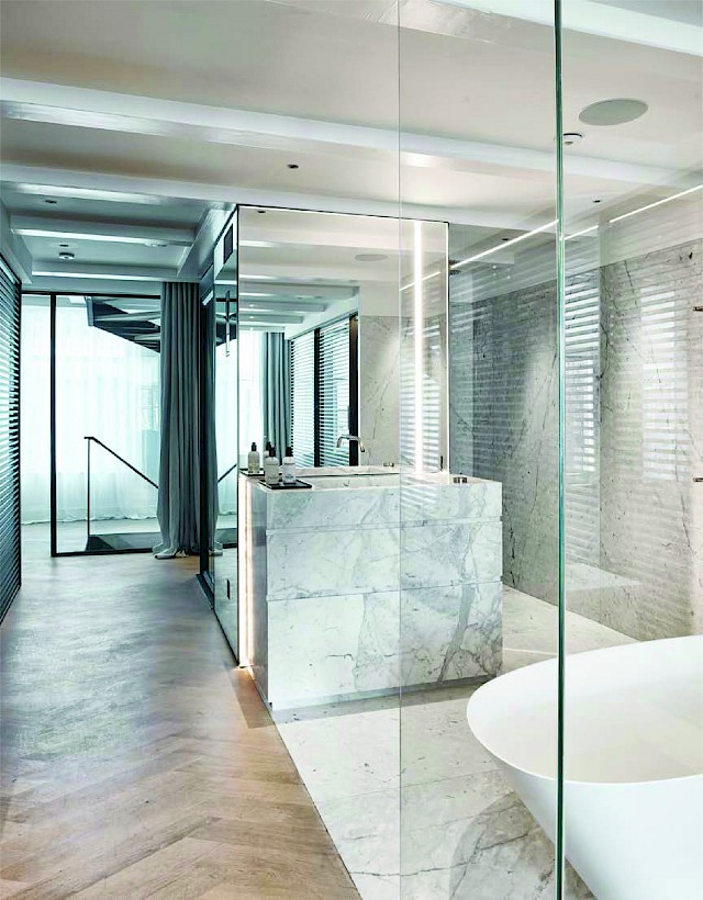 allard architecture • Keizersgracht • Interior View - Bathroom