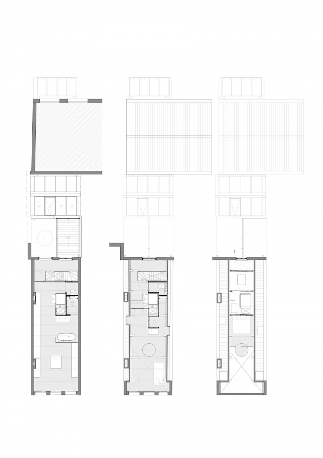 allard architecture • Keizersgracht • Floor Plans