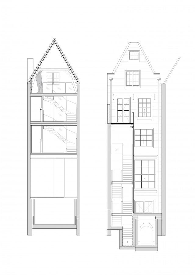 allard architecture • Keizersgracht • Sections