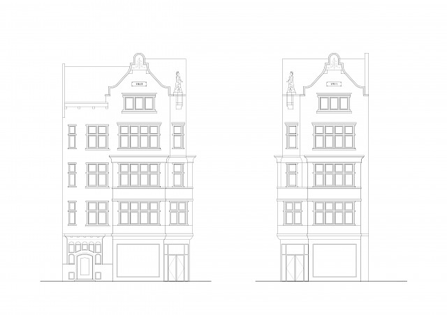 allard architecture • Koningsplein 11 • Elevations