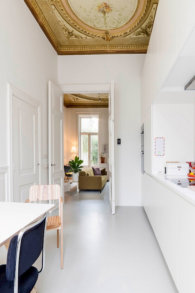 allard architecture • Leliegracht 13 • Interior View - Kitchen