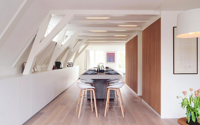 allard architecture • Leliegracht 13 • Interior View - Dining Room