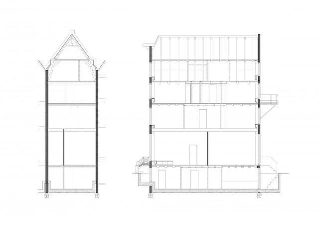 allard architecture • Leliegracht 13 • Sections
