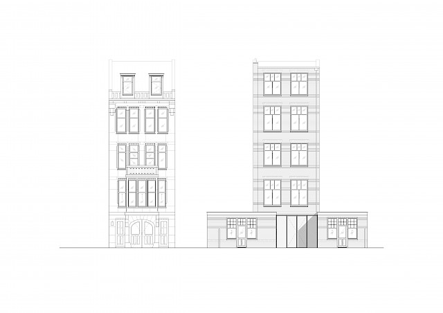 allard architecture • Nieuwe Herengracht 37 • Elevations