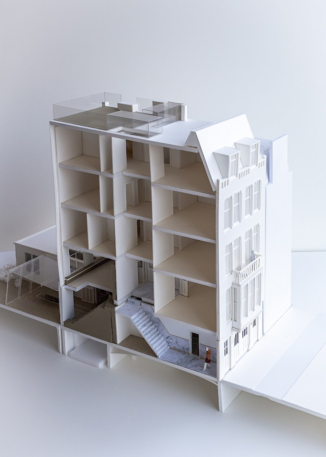 allard architecture • Nieuwe Herengracht 37 • Model