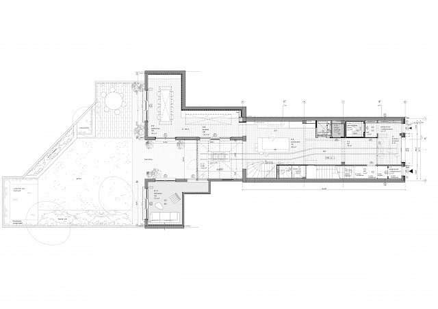allard architecture • Nieuwe Herengracht 37 • Plan Ground Floor