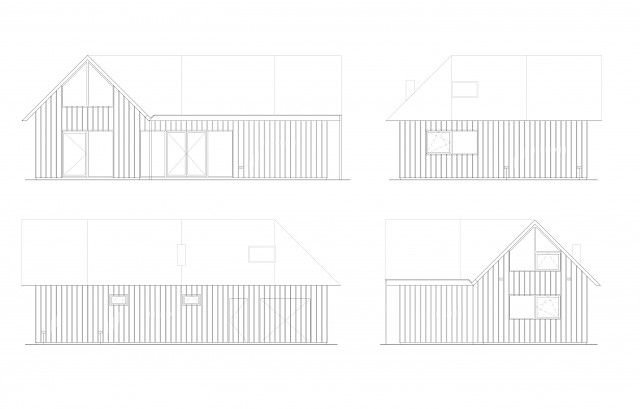 allard architecture • De Kaag • Elevations