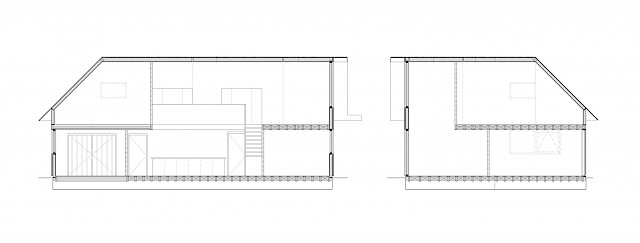 allard architecture • De Kaag • Sections