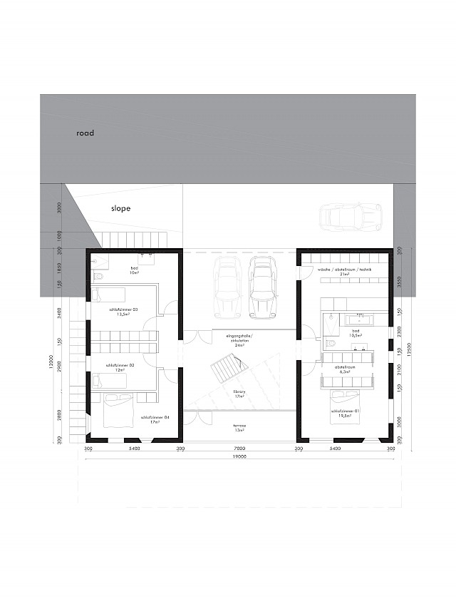 allard architecture • Immensee • Floor Plan