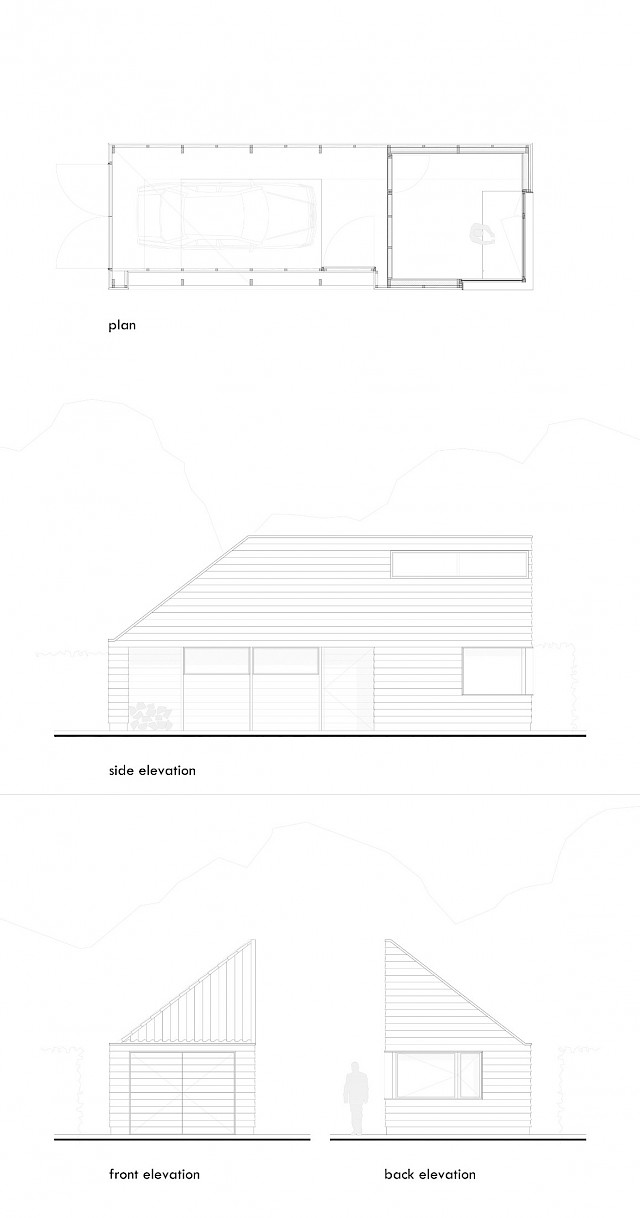 allard architecture • Watergang • Plan and Elevations