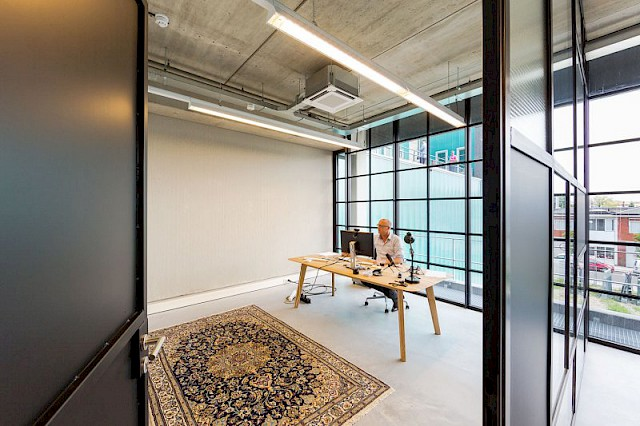 allard architecture • XITE Mansion • Interior View - Office