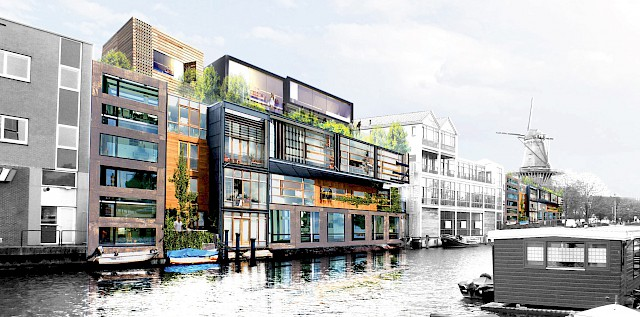 allard architecture • Zeeburgerpad 1-17 • Visualisation