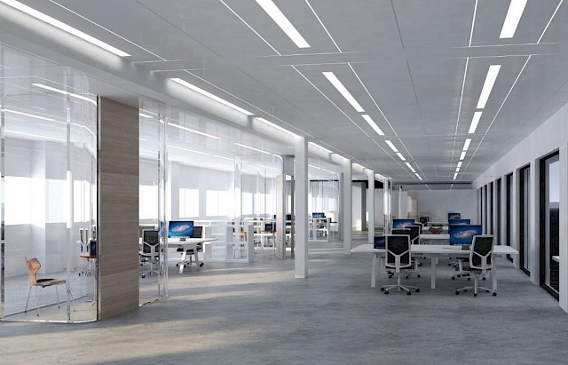 allard architecture • ESA - ESTEC Campus • Erasmus Building Renovation - Interior Render