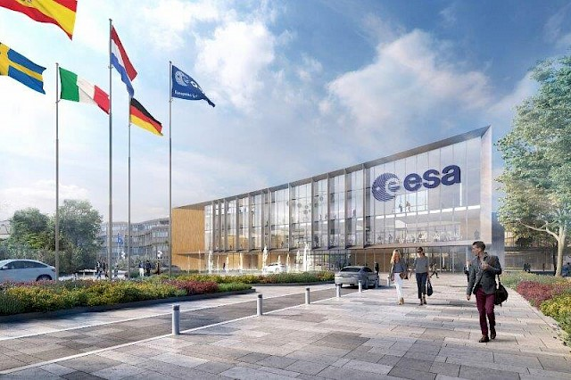 allard architecture • ESA - ESTEC Campus • Site Evolution Plan - Entrance Building
