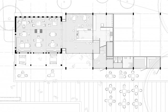 allard architecture • L.T.C. Festina • First Floor Plan