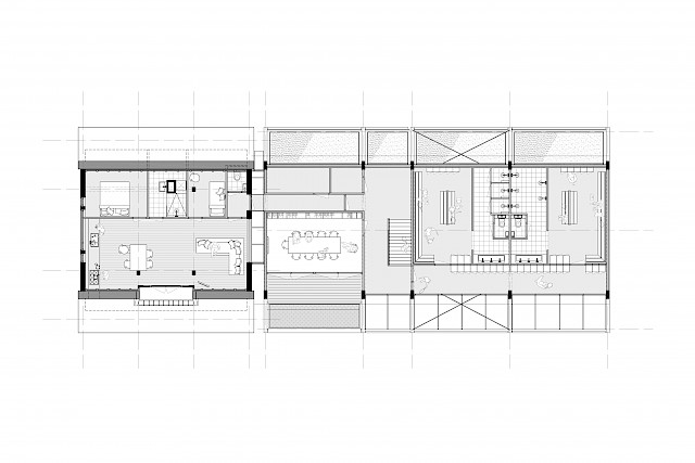 allard architecture • L.T.C. Festina • Ground Floor Plan