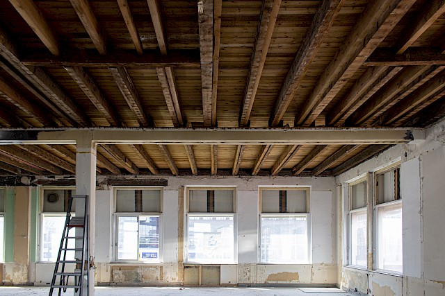 allard architecture • De Ruijterkade 139 • Demolition Phase - Second Floor