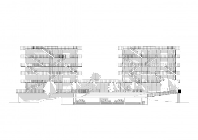 allard architecture • Riga2020 • Elevation