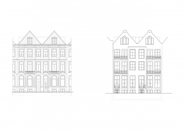 allard architecture • Sarphatistraat • Elevations