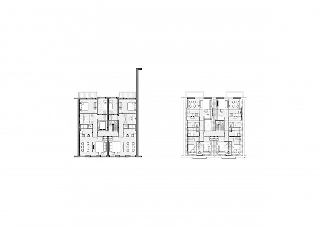allard architecture • Sarphatistraat • Plans - Level 2-3
