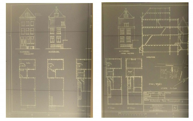 allard architecture • Prinsengracht 9 • Archive Drawings