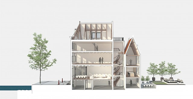 allard architecture • Prinsengracht 9 • New Section
