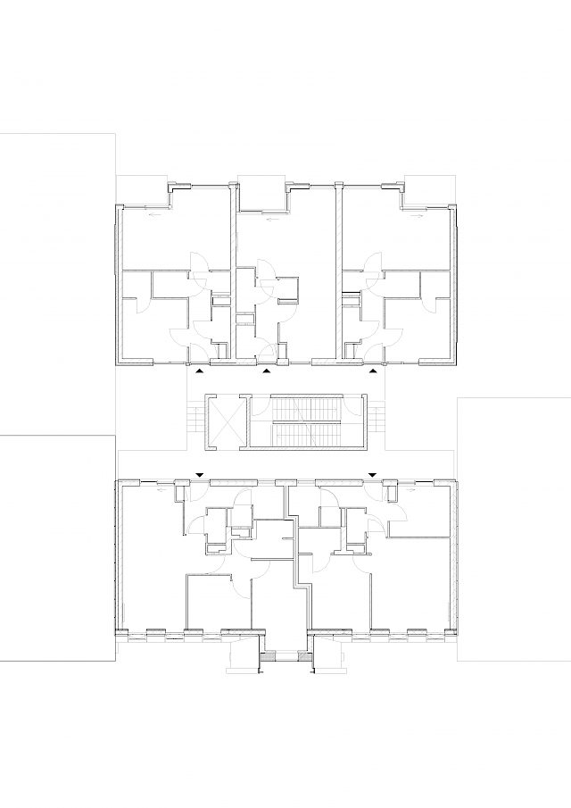 allard architecture • Spaarndammerstraat • Level 4 Floor Plan
