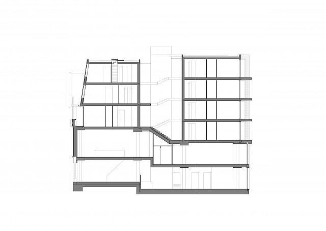 allard architecture • Spaarndammerstraat • Section